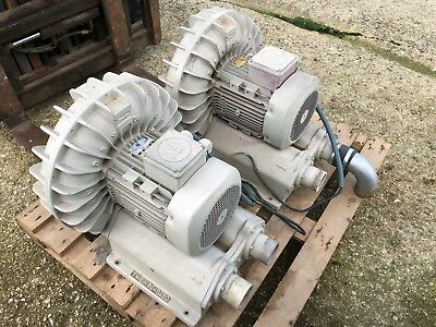 5.5kw Side Channel Regenerative Blower/Vacuum/Air Pump WAT-TV-DRV040450