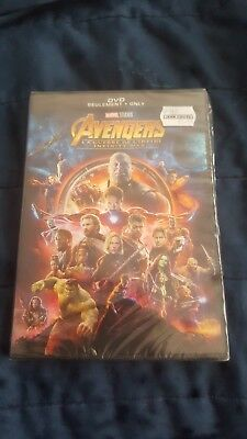 Avengers: Infinity War (DVD,2018) Brand NEW SEALED