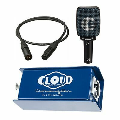 Cloud Microphones CL-1 Cloudlifter Bundle with Sennheiser e906 and Mogami Cable