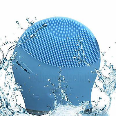 Super Face Washing Tool Electric Soft Silicone Facial Brush Cleanser Massage