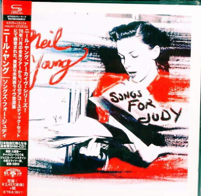 Neil Young - Songs For Judy CD NEW