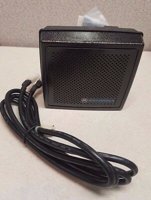 Motorola HSN1006A, Audio PA and Speaker with Cable, NEW
