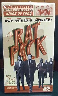 The Rat Pack - Boxed Set (VHS, 1999, 4-Tape Set) New And Sealed