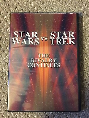 Star Wars Vs. Star Trek - The Rivalry Continues (DVD, 2002)