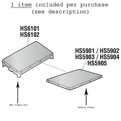 Teflon Cover for Heat Seal