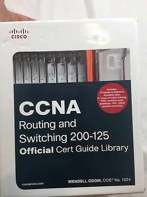 CCNA Routing and Switching 200-125 100-105 Official Cert Guide Library