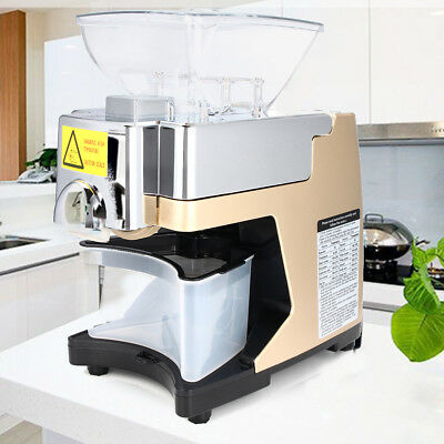 Automatic Oil Press Machine Stainless Steel Hot Cold Olive Oil Mill Extractor