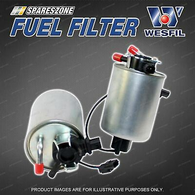 wesfil fuel filter for nissan navara d40 pathfinder r51 v6 refer ryco z1038