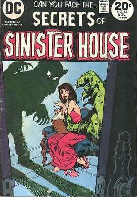 Secrets of Sinister House #15 in Fine condition. DC comics [*zk]