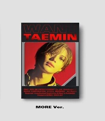 Shinee Taemin-[Want]2nd Mini Album Kihno More Ver Kit+Poster+13p PhotoCard+Gift
