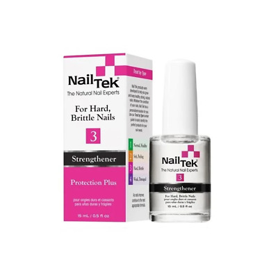 Nail Tek Protection Plus 3 - Strengthener for Hard, Brittle Nails (15ml)
