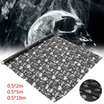 Skull Water Transfer Printing Film Hydrographics Hydro Dipping DIP Print 0.5x2m