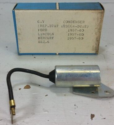 NOS 1941-42 Ford 1//2 Ton 4 8 Cylinder Ford Script Condenser #91A-12300 6