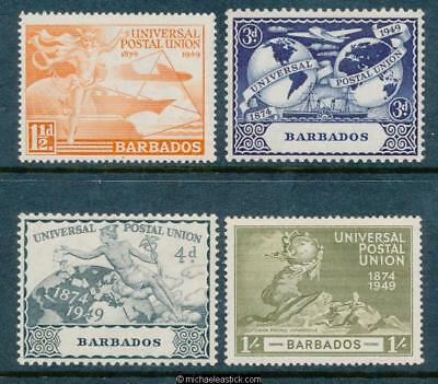 1949 Barbados U.P.U., set of 4, SG 267-70, MH
