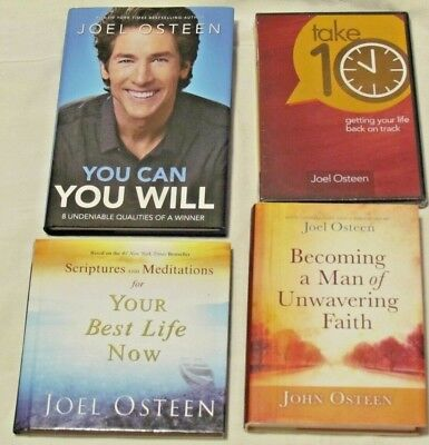 Lot Of 3 Joel Osteen Books Daily Reading From Your Best Life Now