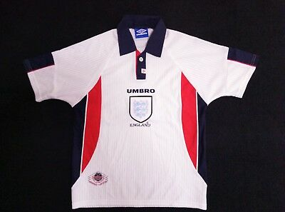 1998 France (Inghilterra England 1° maglia) # HOME [SHIRT MAILLOT TRIKOT]