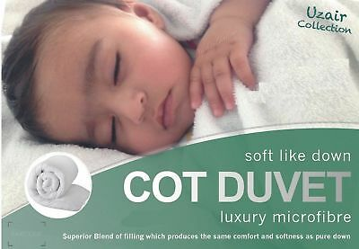 Luxury Toddler Baby Anti-Allergy Comfy High Quality Microfibre Soft Cot Duvet