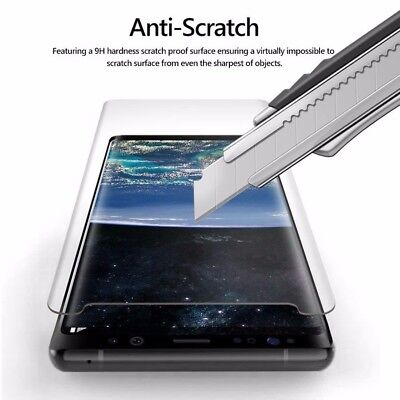 X2 Case Friendly 3D Curved Sreen Protector Tempered Glass Samsung Galaxy S8 S9