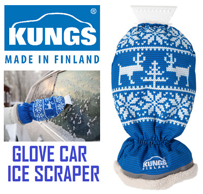 KUNGS Arctic-IS Glove / Mitt Car Ice Scraper Made In Finland  - Quality Product