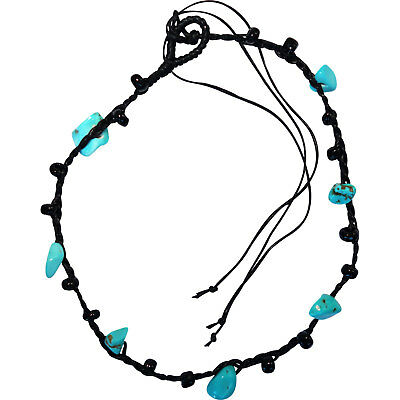 Black Turquoise Anklet Ankle Bracelet Foot Chain Womens Girls Ladies Jewellery
