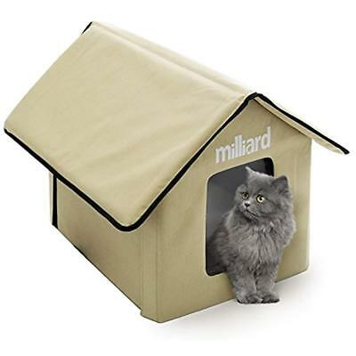 Portable Outdoor Pet House For Cat, Kitty Or Puppy Perfect Bed Cave Or Shelter