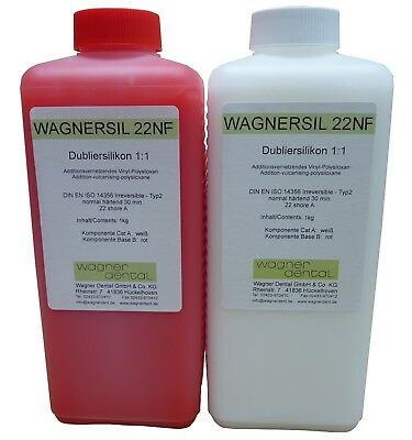 Wagnersil 22 Nf Premium Duplicating Silicone Silicone Rubber Universal