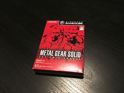 Metal Gear Solid: The Twin Snakes -  Nintendo Gamecube game Japanese Japan NTSC