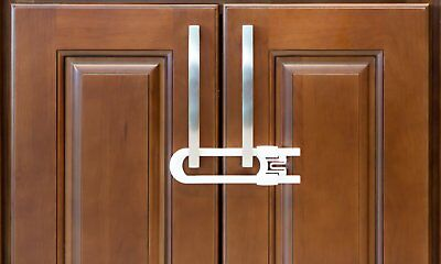 Sliding Cabinet Locks For Child Safety   Baby Proof Your Kitchen, Bathroom, an..