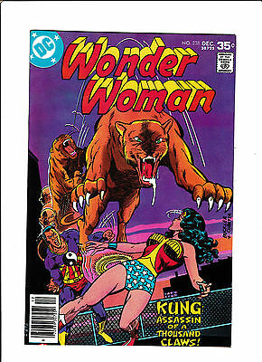 """Wonder Woman #238  [1977 Fn]  """"kung: Assassin Of A Thousand Claws!"""""""