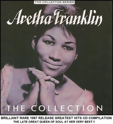 Aretha Franklin - A Very Best Greatest Hits Collection - RARE 1997 Soul CD