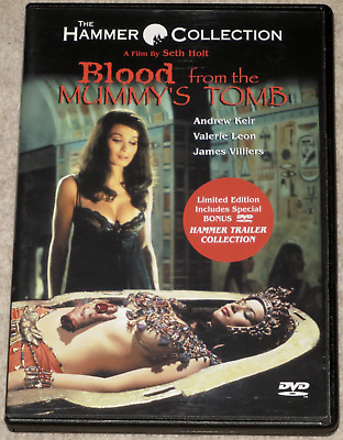 BLOOD FROM THE MUMMY'S TOMB Hammer Horror ANCHOR BAY Region 1 DVD (1971)