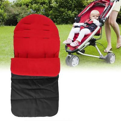 Pushchair Footmuff Warm Toe Cover Winter Windproof Warmth Sleeping Bag 6L