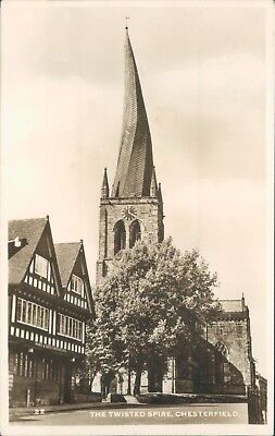 real photo; Chesterfield the twisted spire;
