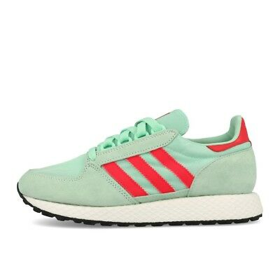 ADIDAS FOREST GROVE W Clear Mint Active Pink Chalk White Schuhe Sneaker Grün
