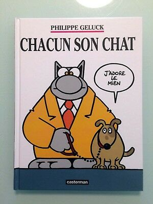 BD Le Chat de Geluck - 21 - Chacun son Chat (NEUF, Editions Casterman)