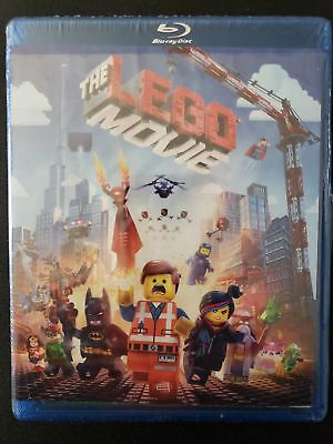 The Lego Movie Blu-Ray + Dvd ✔☆Mint☆✔No Digital✔Free Shipping