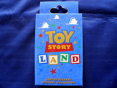 Disney Toy Story Land Mystery Box Block Characters Collection Green Army Man Pin