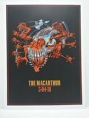 Guns N Roses 18x24 Poster Lithograph 5-4-18 The MacArthur DVD Set Release Promo