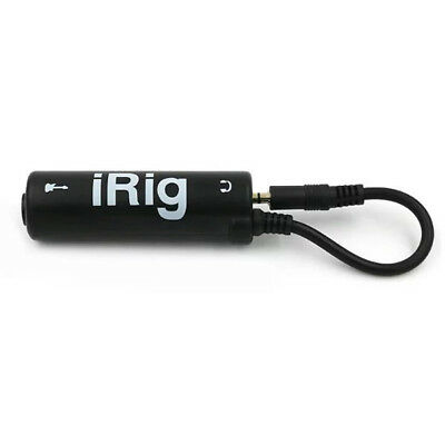 Mini Audio Interface AMP iRig System Guitar Effects Pedal Link Converter Adapter