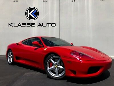 2001 360  2001 Ferrari 360 F1 Coupe Ca Car Only 8,900 Miles Pristine Condition Scuderia