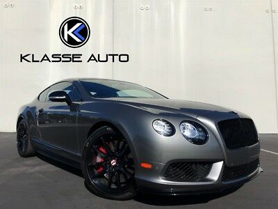 2014 Bentley Continental GT V8 S 2014 Bentley Continental GT V8 S Coupe Factory Aero Kit Only 7k Miles Perfect