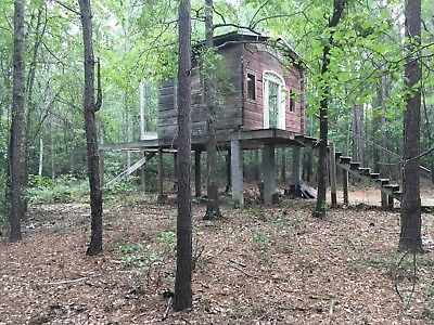 Log Cabin House w/ Land Property South Carolina woods deer
