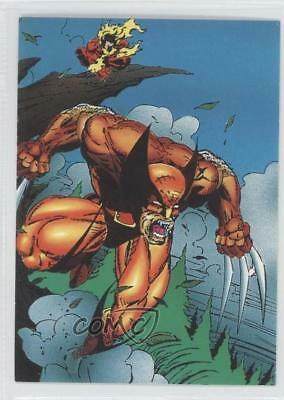 1992 Comic Images Wolverine: From Then 'Til Now II #15 Triggers Card 1k3