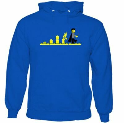 Potter Lego Mens Funny Parody Hoodie Top Harry