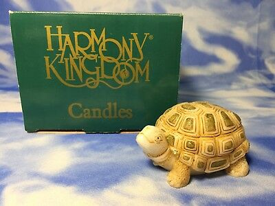 "NEW RARE Harmony Kingdom ""Turtle Candle"" Shaped CLTU NIB"