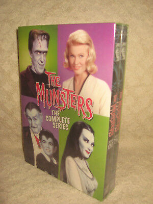 The Munsters The Complete Series Dvd Set.