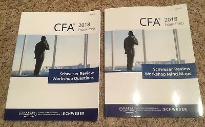 2018 CFA LEVEL 3(III) Exam Schweser Workshop Questions and Mind Maps Books