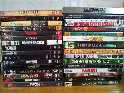 DVD Movie lot.  YOU CHOOSE!  More you buy, more you save!