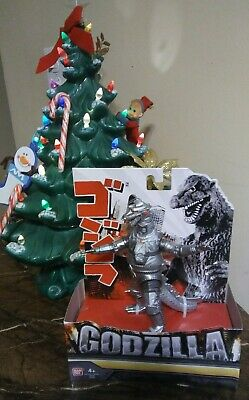"NEW Bandai Creation 6"" GODZILLA & MECHAGODZILLA '74 King of the Monsters"