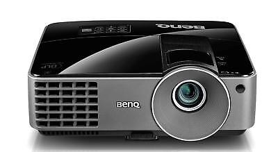 BenQ MX501 DLP 3D ready 1080p Home Cinema Projector 2500 Lumens New Lamp